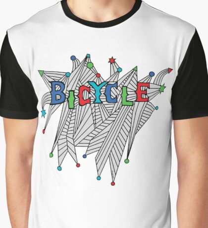 Bicycle Celebration Graphic T-Shirt