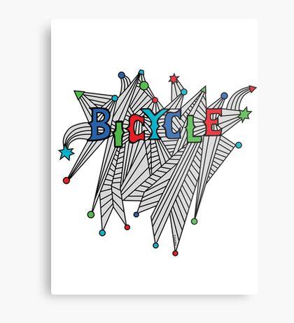 Bicycle Celebration Metal Print