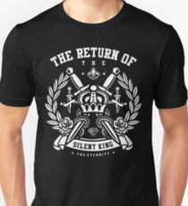 The Return Of The Silent King Retro Vintage Distressed Design Unisex T-Shirt