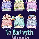 In Bed with Music - Classical Music Instruments by didielicious