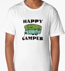 Happy Camper Long T-Shirt