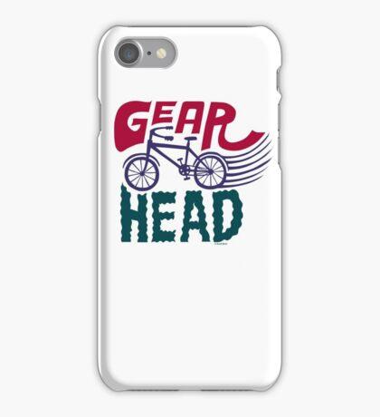 Gearhead - colored iPhone Case/Skin