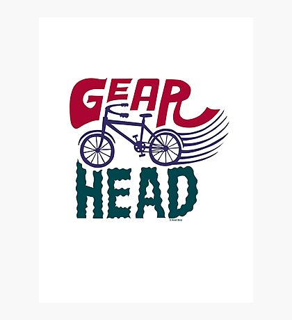 Gearhead - colored Photographic Print