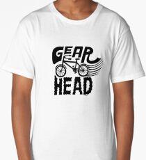 Gearhead -  black   Long T-Shirt