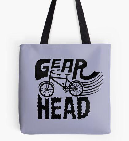 Gearhead -  black   Tote Bag