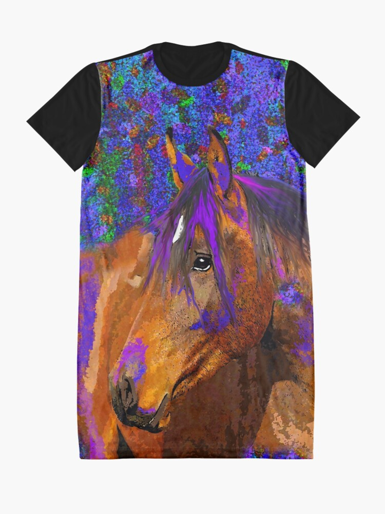 Alternate view of HORSE  Graphic T-Shirt Dress