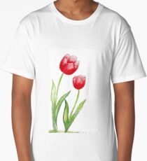 Tulips  Long T-Shirt