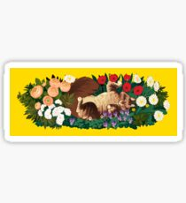 Cat Garden Sticker