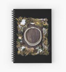 Tarot of Bones - Magician Spiral Notebook