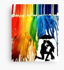 Rain-Bow Canvas Print