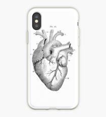 Vinilo o funda para iPhone Corazón anatómico