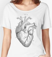 Anatomical Heart Women's Relaxed Fit T-Shirt