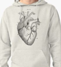 Anatomical Heart Pullover Hoodie