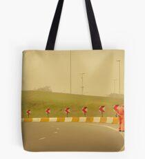 Belgium Highway Man Tote Bag