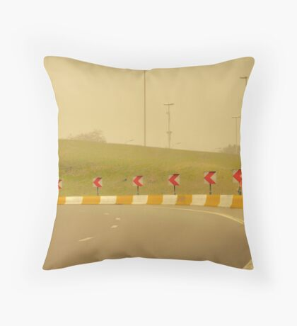 Belgium Highway Man Throw Pillow