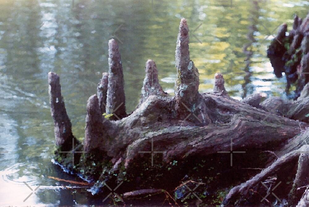 Swamp Dragon by Rebekah  McLeod