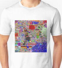 Reddit /r/Place 12K resolution (30 hours) Unisex T-Shirt