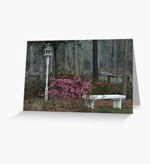 Wedding Garden Greeting Card