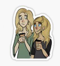 Lance Sisters Sticker