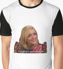Jane krakowski - Second Banana Graphic T-Shirt