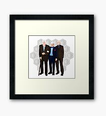 Doctor Who - The Great Curators  Framed Print