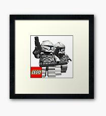 Lego Star Wars Framed Print