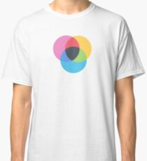 Abstract color selection Classic T-Shirt