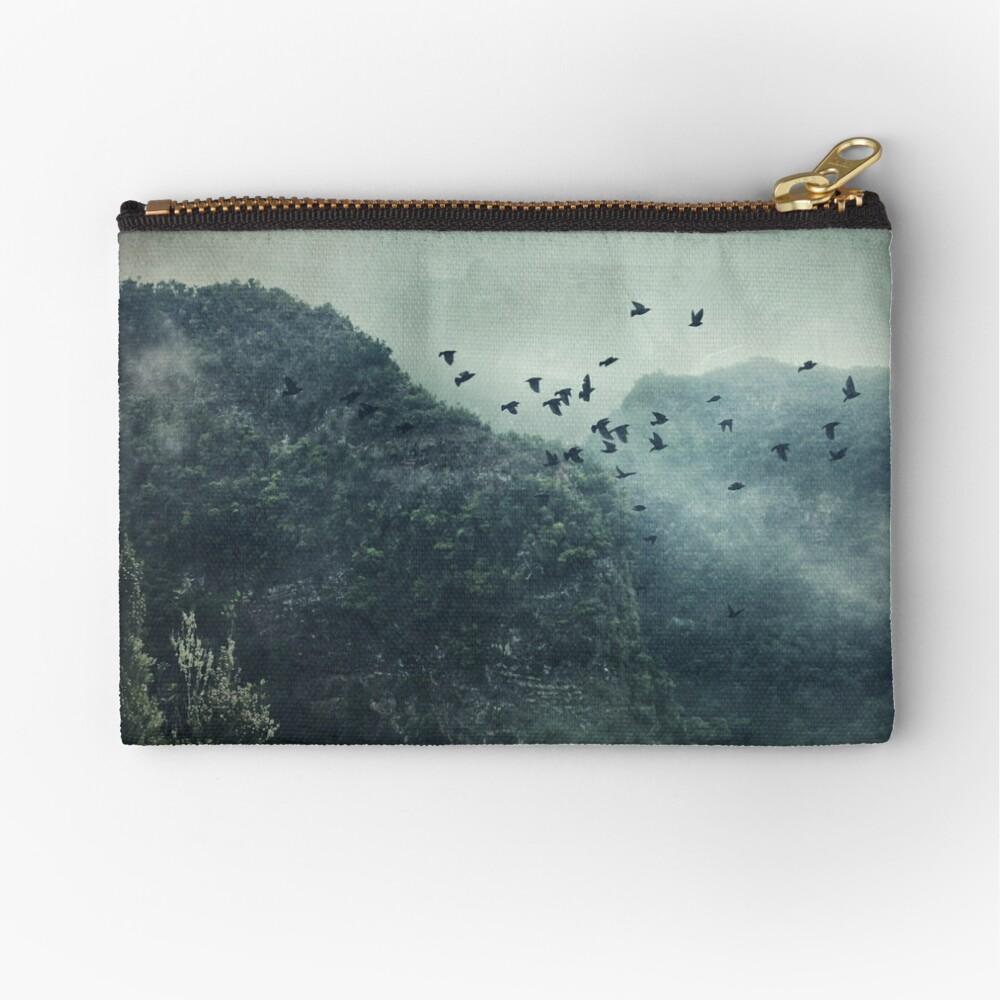Misty Mountains Vol. X Zipper Pouch