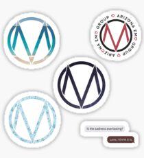 Pegatina ¡La hoja de la etiqueta con el logotipo de Maine!