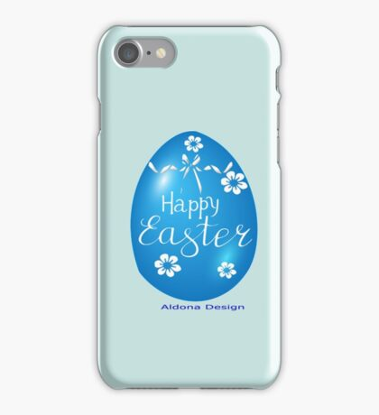 Chocolate Easter egg Card ( 3827  Views) iPhone Case/Skin