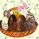 Chocolate Easter egg Card ( 3827  Views) by aldona
