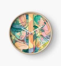 Face Sketches Clock