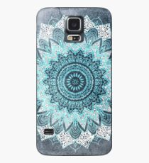 BOHOCHIC MANDALA IN BLUE Case/Skin for Samsung Galaxy