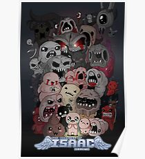 Binding of Isaac Fan art Poster