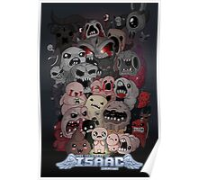 Binding of Isaac Fan art Poster