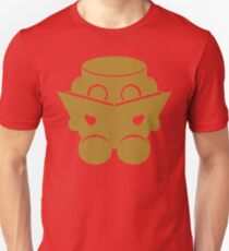 O'BOT: Love a Book (Gold) 1.0 Slim Fit T-Shirt