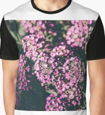 Purple Floral Graphic T-Shirt
