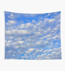 Lots of tiny clouds. Wall Tapestry
