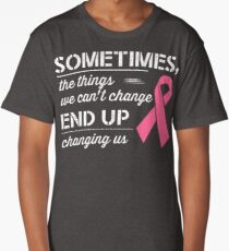 Breast Cancer Awareness Shirt  Long T-Shirt