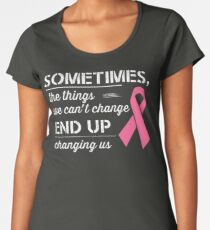 Breast Cancer Awareness Shirt  Women's Premium T-Shirt