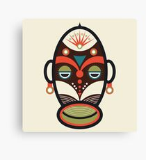Traditional African Ethnic Mask Canvas Print