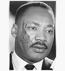 Martin Luther King Gucci Poster