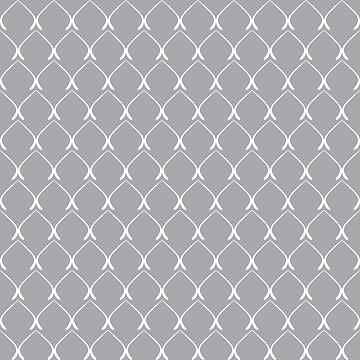 Elegant geometric pattern №1 by AllaRi