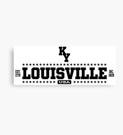 Louisville Kentucky USA Canvas Print