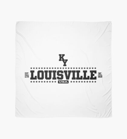 Louisville Kentucky USA Scarf