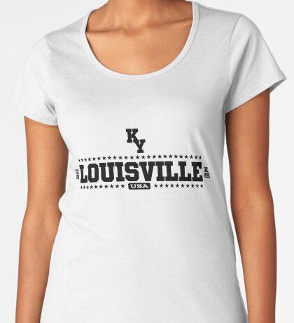 Louisville Kentucky USA Premium Scoop T-Shirt