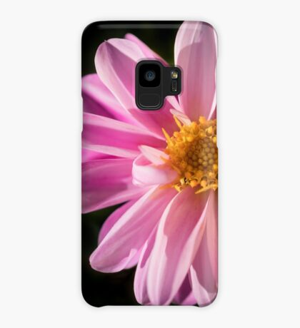 Sunshine on a Perfect Dahlia Case/Skin for Samsung Galaxy
