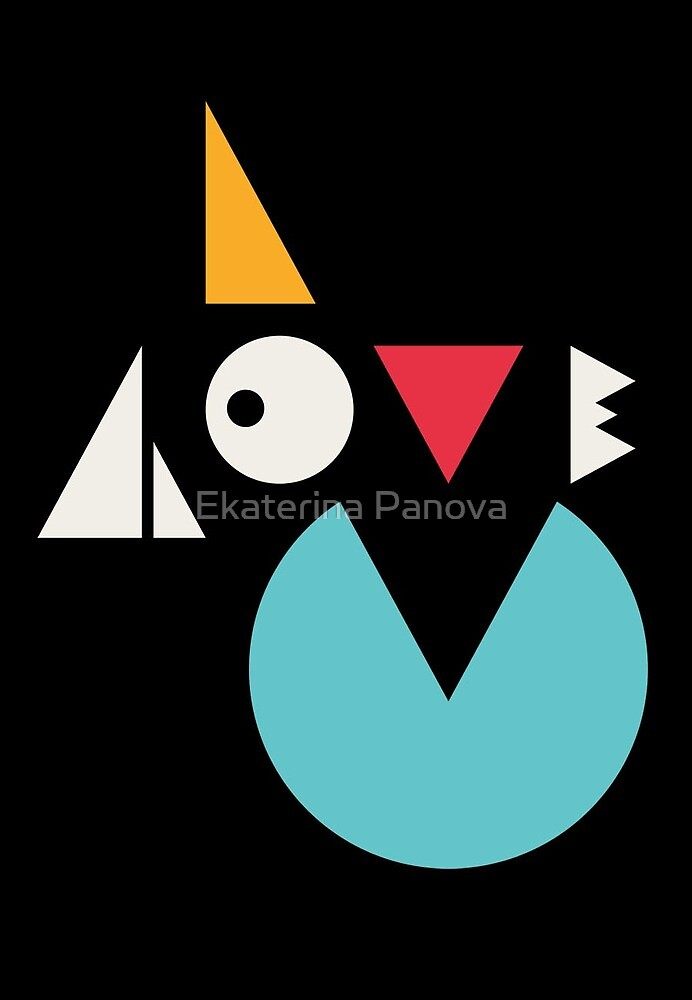 I love you by Ekaterina Panova