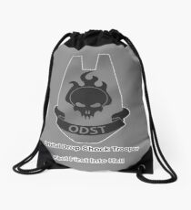 ODST - Feet First Into Hell Drawstring Bag