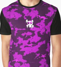Zombie Punk Pinkish Camouflage ! By BoardZombies Skate Art Design Graphic T-Shirt